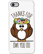 Thank For Owl You Do - Owl iPhone Case Phone Case i-phone-7-case