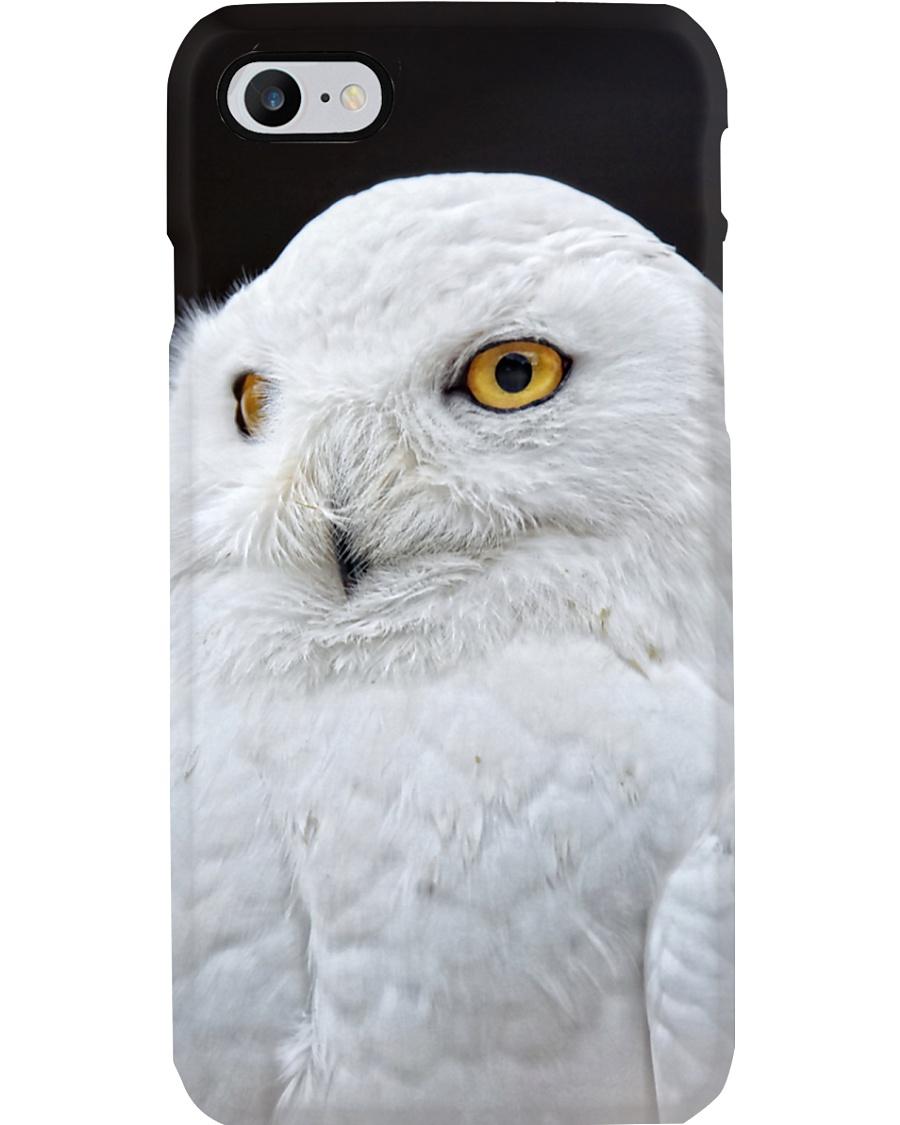 White Snowy Owl iPhone Case Phone Case