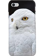 White Snowy Owl iPhone Case Phone Case i-phone-7-case