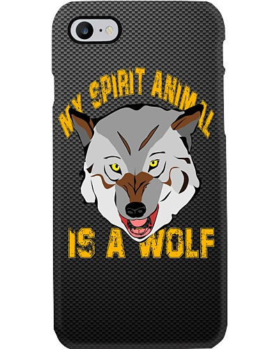 My Spirit Animal Is A Wolf: Mobile Case