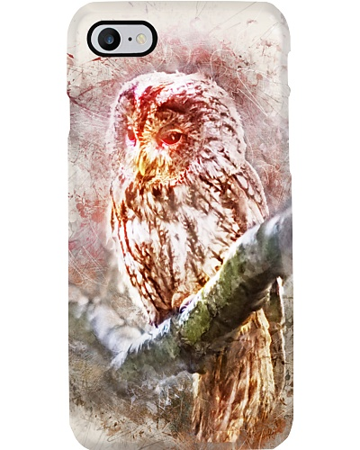 Owl Design iPhone Case