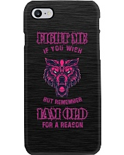 Fight Me If You Wish - Wolf Mobile Case Phone Case i-phone-7-case
