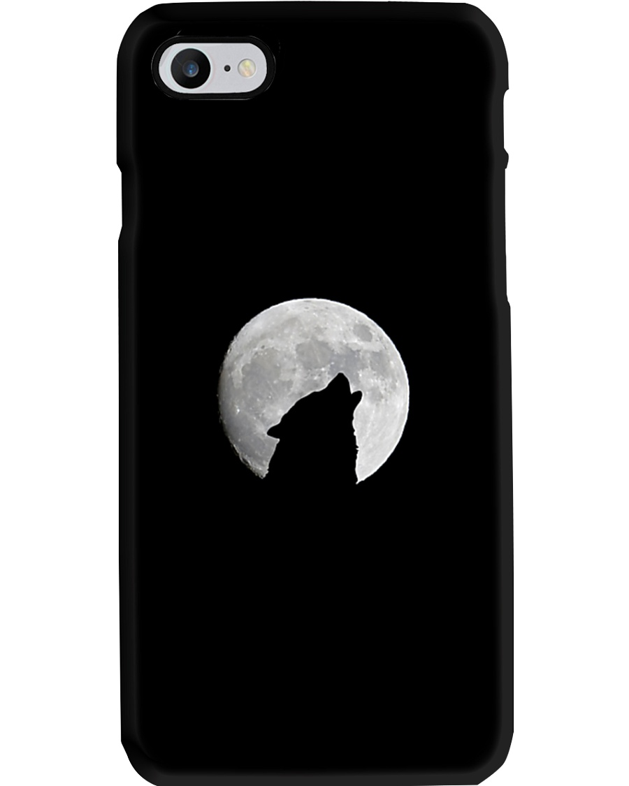 White Full Moon Wolf Phone Case Phone Case
