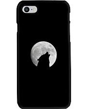 White Full Moon Wolf Phone Case Phone Case i-phone-7-case