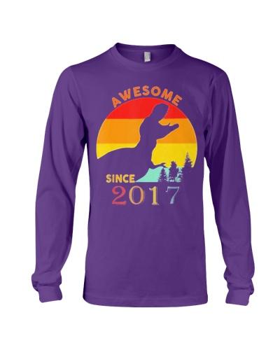 2nd Birthday Gift Shirt Dinosaur 2 Year 2017