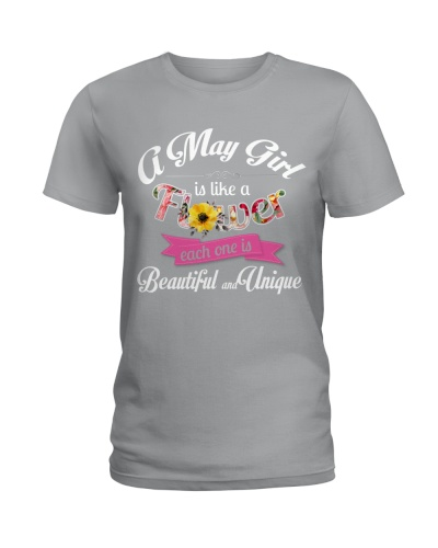 A MAY GIRL IS LIKE A FLOWER