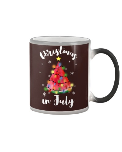 Christmas In July Watermelon Christmas Tree