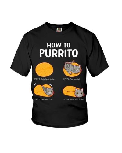 How To Purrito Cat Burrito
