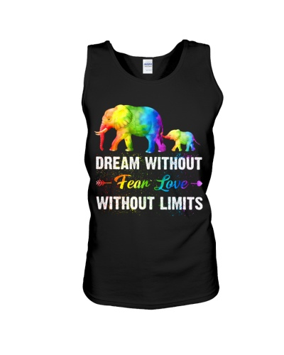 Dream Without Fear Love Without Limits Elephant