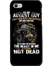 AS AN AUGUST GUY Phone Case thumbnail