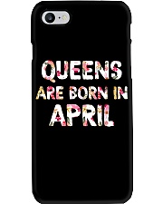 QUEENS ARE BORN IN APRIL Phone Case thumbnail