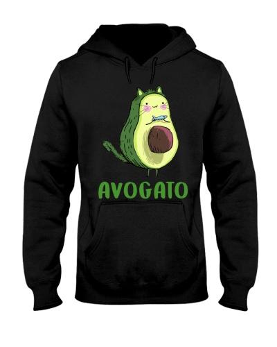 Cat Avocado Funny Avogato