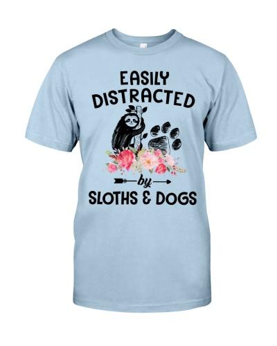 Easily Distracted Sloth And Dog