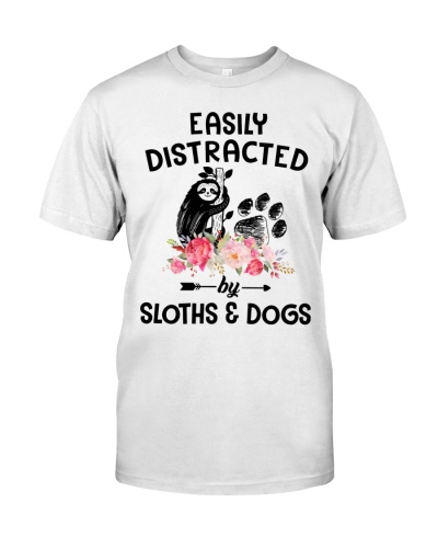 Easily Distracted Sloth And Dog