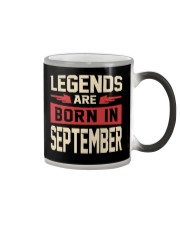 LEGENDS ARE BORN IN SEPTEMBER Color Changing Mug tile