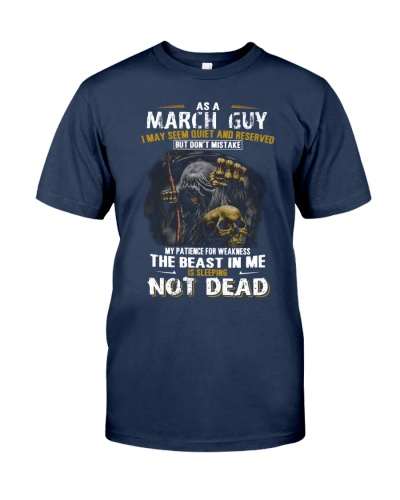 AS A MARCH GUY