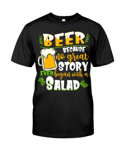 Beer Because No Great Story Ever Began With A Slad