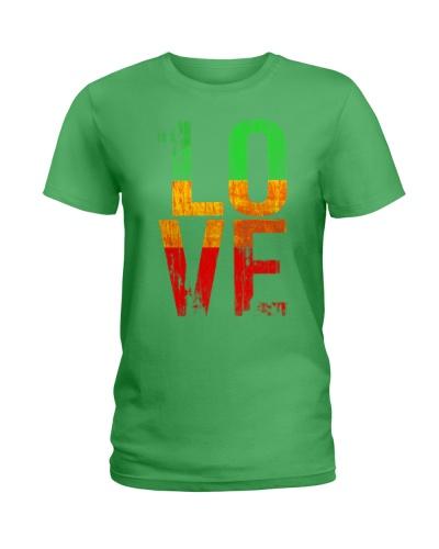 1 Love T Shirt For Reggae Music Fans