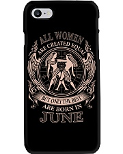 THE BEST WOMEN ARE BORN IN JUNE Phone Case thumbnail