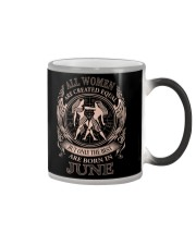 THE BEST WOMEN ARE BORN IN JUNE Color Changing Mug thumbnail