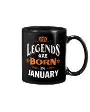 LEGENDS ARE BORN IN JANUARY Mug tile