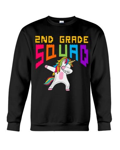 2nd Grade Squad Unicorn Third Second Teacher
