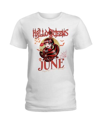 HALLOQUEENS ARE BORN IN JUNE