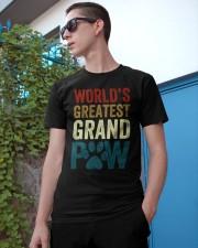World's Greatest Grand Paw Funny Grandpa Classic T-Shirt apparel-classic-tshirt-lifestyle-17