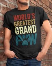 World's Greatest Grand Paw Funny Grandpa Classic T-Shirt apparel-classic-tshirt-lifestyle-26
