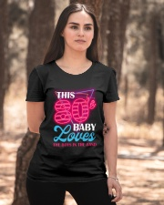 This 80's Fan Girl Loves-On-Block A Colorful-Kids Ladies T-Shirt apparel-ladies-t-shirt-lifestyle-05