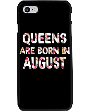QUEENS ARE BORN IN AUGUST Phone Case thumbnail