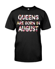 QUEENS ARE BORN IN AUGUST Classic T-Shirt thumbnail