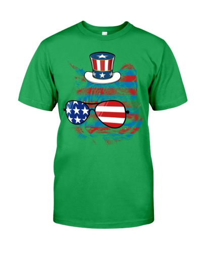 4th July Gift For Women Men Cat Meowica American