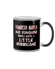 MARCH GIRL SUNSHINE MIXED WITH LITTLE HURRICANE Color Changing Mug thumbnail