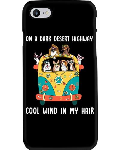 On A Dark Desert Highway Feel Cool Wind In My Hair