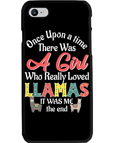 There Was A Girl Who Really Loved Llamas Cute