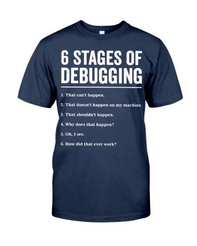 6 Stages of Debugging Bug Coding Computer Programm