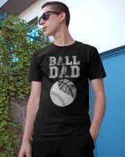 Mens Basketball Softball Dad Funny Cool Gift Classic T-Shirt apparel-classic-tshirt-lifestyle-17