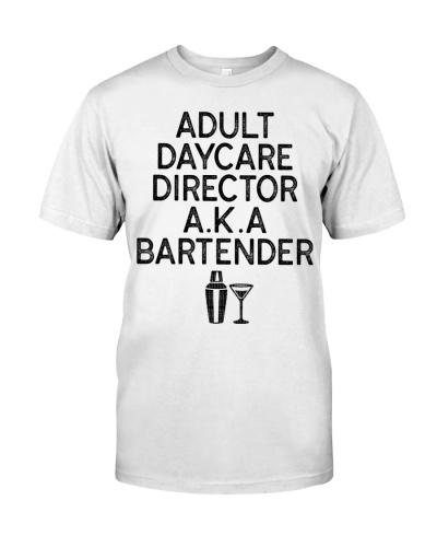 Adult Daycare Director Bartender Cool Bartending