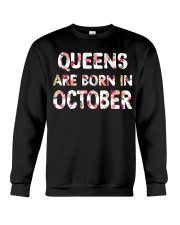 QUEENS ARE BORN IN OCTOBER Crewneck Sweatshirt thumbnail