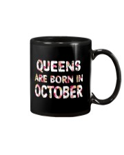 QUEENS ARE BORN IN OCTOBER Mug thumbnail