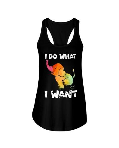 I Do What I Want Elephant Doing Yoga Exhale