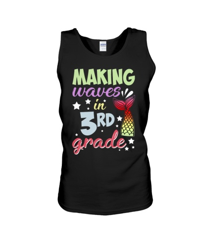 Mermaid Making Waves In 3rd Grade Back To School