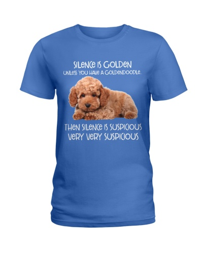 Silence Is Golden Unless You Have A Goldendoodle