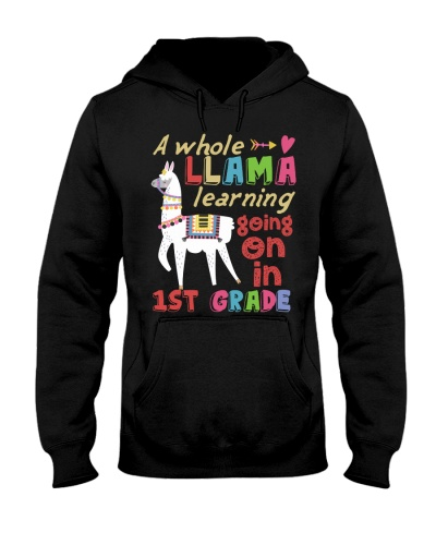 A Whole Llama Learning Going On In 1st Grade Back