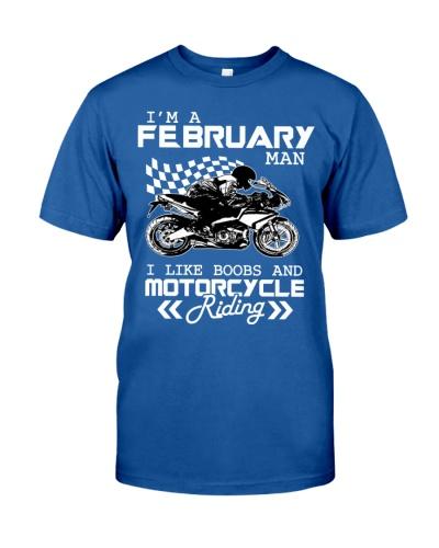 I'M A FEBRUARY MAN