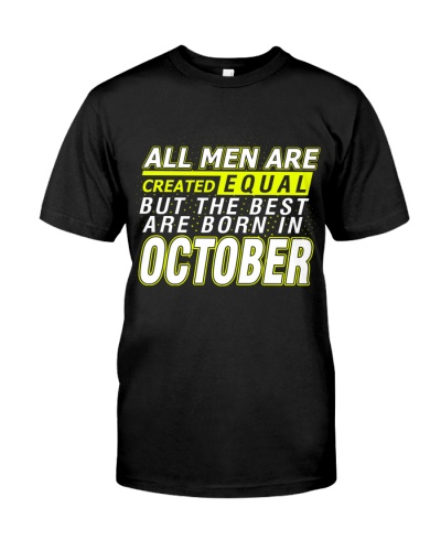 ONLY THE BEST ARE BORN IN OCTOBER