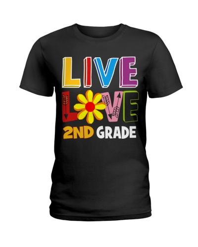 Live Love Second Grade Back To School