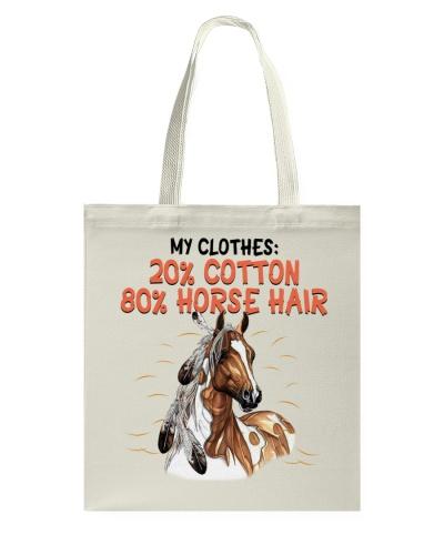 My Clothes 20 Cotton 80 Horse