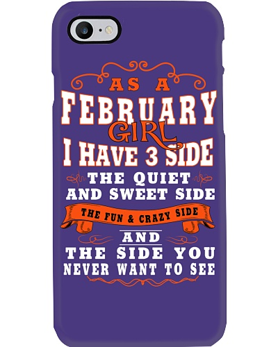 AS A FEBRUARY GIRL I HAVE 3 SIDE